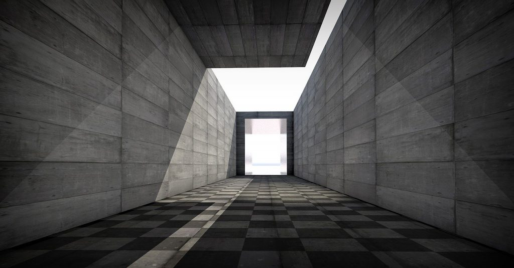 tunnel, end, architecture